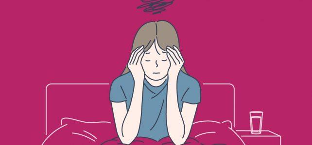 Дама, страдаща от класическа мигрена с аура, се чувства добре с Омни-Биотик Мигра